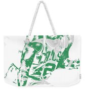 Al Horford Boston Celtics Pixel Art 5 Weekender Tote Bag