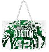 Al Horford Boston Celtics Pixel Art Weekender Tote Bag