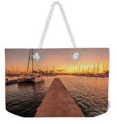 Ala Wai Harbor Sunset Weekender Tote Bag
