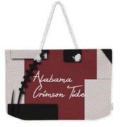 Alabama Crimson Tide Art Weekender Tote Bag