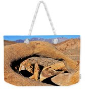 Alabama Hills Arches Weekender Tote Bag