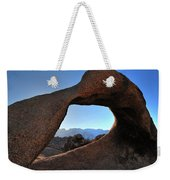 Alabama Hills Window Weekender Tote Bag