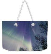 Alaska Aurora Borealis Weekender Tote Bag