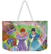 Alaska Berry Fairies Book 2 Lizzie Scarlet Weekender Tote Bag