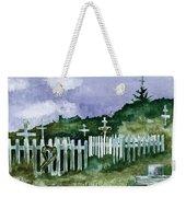 Alaska Graveyard  Weekender Tote Bag