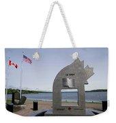 Alaska Highway Memorial Weekender Tote Bag