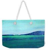 Alaska Lake Weekender Tote Bag