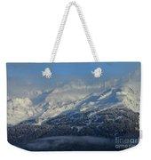 Alaska Mountain View Weekender Tote Bag