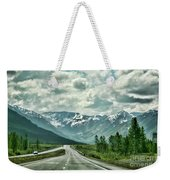 Alaska On The Road  Weekender Tote Bag