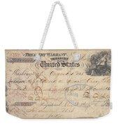 Alaska Purchase: Check Weekender Tote Bag