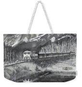 Alaska Railroad Near Whittier Weekender Tote Bag