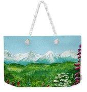 Alaska Splendor Weekender Tote Bag