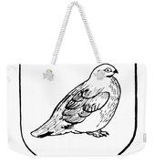 Alaska: State Bird Weekender Tote Bag