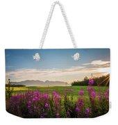 Alaska Summer Love Weekender Tote Bag