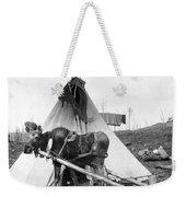 Alaska: Tepee, C1916 Weekender Tote Bag