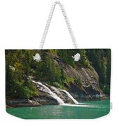 Alaska Tracy Arm Weekender Tote Bag