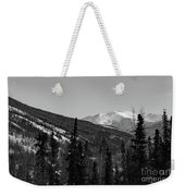 Alaska Wilderness Bw Weekender Tote Bag