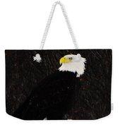 Alaskan Bald Eagle Weekender Tote Bag