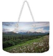 Alaskan Dandelions  Weekender Tote Bag
