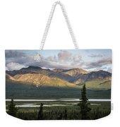 Alaskan Glacial Valley Weekender Tote Bag