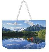 Alaskan Kayaker Weekender Tote Bag