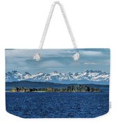 Alaskan Mountain Panorama Weekender Tote Bag