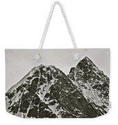 Alaskan Peaks Weekender Tote Bag