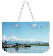 Alaskan Seaplane Base Weekender Tote Bag