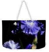 Alaskan Seas Iris  Weekender Tote Bag