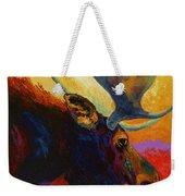 Alaskan Spirit - Moose Weekender Tote Bag
