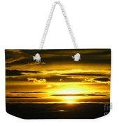Alaskan Sunset Weekender Tote Bag
