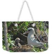 Albatross Mom And Baby Weekender Tote Bag