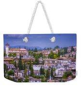 Albayzin View Granada Weekender Tote Bag