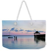 Outer Banks,nc,sunset Weekender Tote Bag