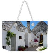 Alberobello Courtyard With Trulli Weekender Tote Bag