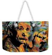 Albert Einstein - By Prar Weekender Tote Bag