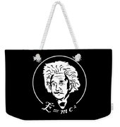 Albert Einstein Discoverer Of The Law Of Relativity Weekender Tote Bag