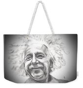 Albert Einstein Weekender Tote Bag