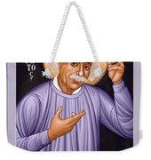 Albert Einstein  Scientist, Humanitarian, Mystic - Rlabe Weekender Tote Bag