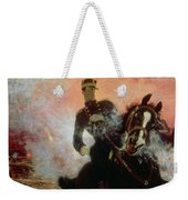 Albert I King Of The Belgians In The First World War Weekender Tote Bag by Ilya Efimovich Repin