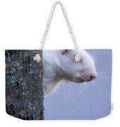 Albino Squirrel Weekender Tote Bag