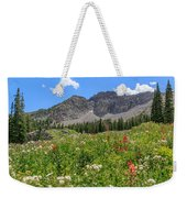 Albion Summer Flowers Weekender Tote Bag
