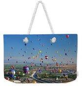 Albuquerque Balloon Fiesta Weekender Tote Bag