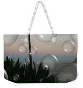 Alca Bubbles Weekender Tote Bag by Holly Ethan
