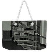 Alcatraz Stairs In Bw Weekender Tote Bag