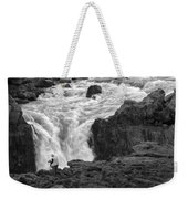 Aldeyjarfoss Waterfall Iceland 3381 Weekender Tote Bag