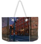 Ale House And Street Lamp Weekender Tote Bag