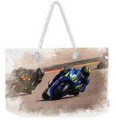 Aleix Espargaro Team Suzuki Ecstar Weekender Tote Bag