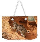 Alert Bobcat Weekender Tote Bag