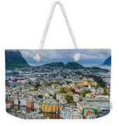 Alesund Norway Cityscape Weekender Tote Bag